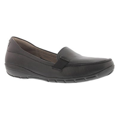 Hush Puppies Women's TILLY DANDY black slip on casual shoes