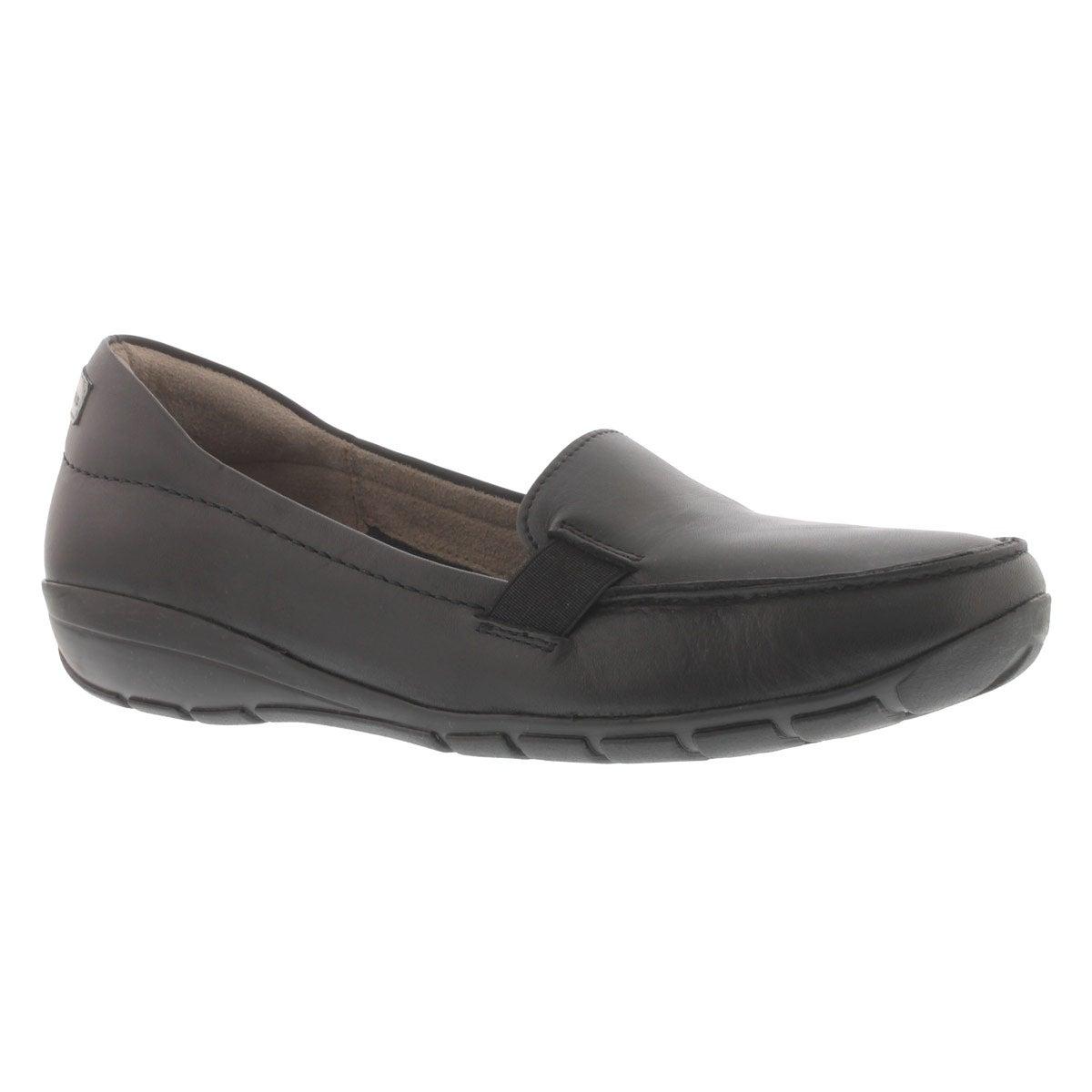 Lds Tilly Dandy blk slip on casual shoe