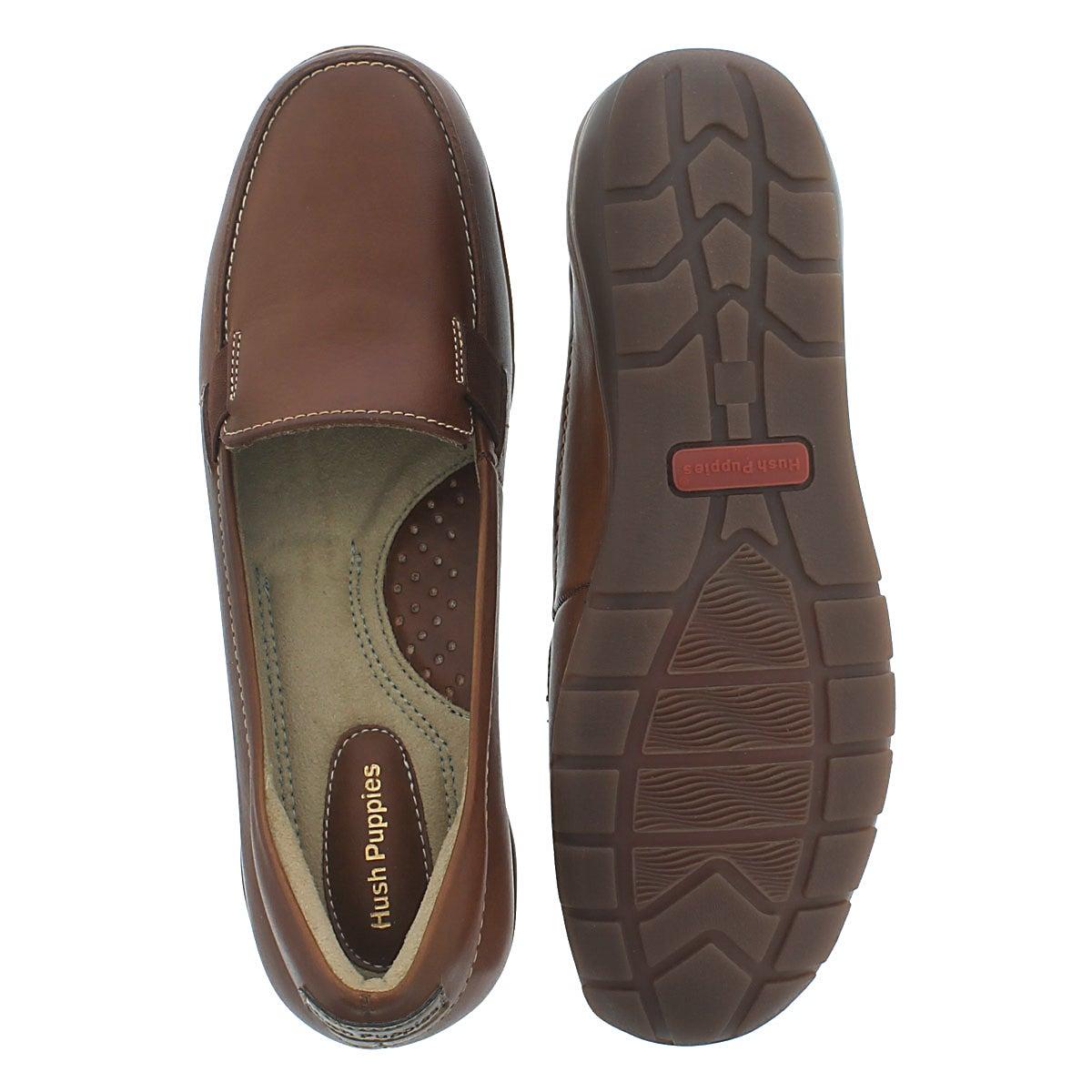 Lds Tilly Dandy tan slip on casual shoe