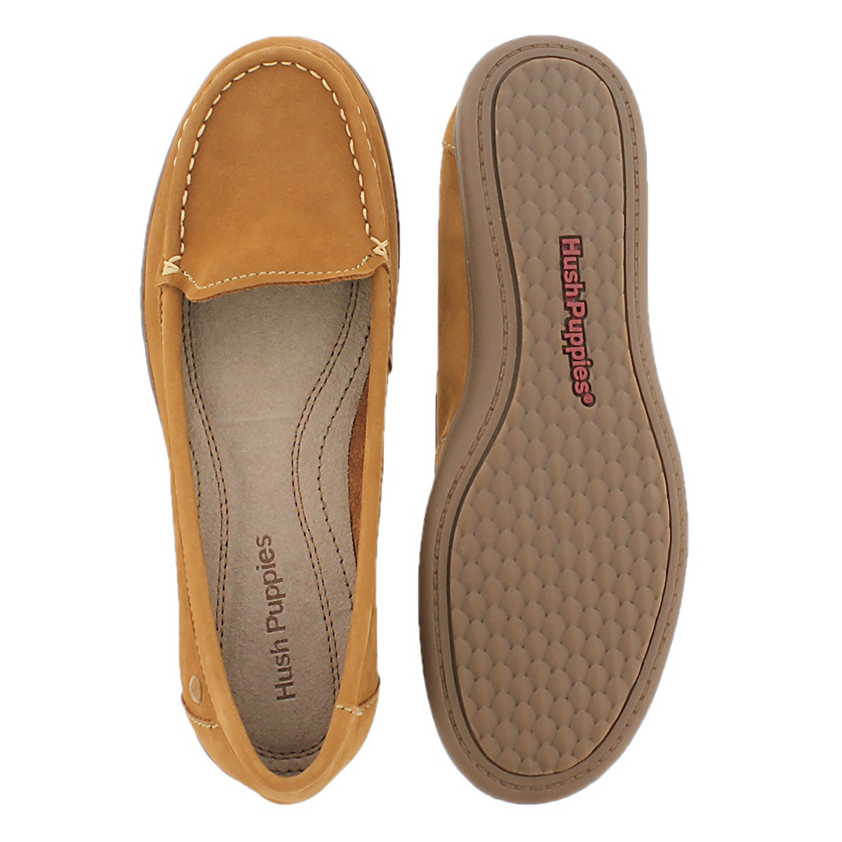 Lds Ryann Claudine tan casual loafer