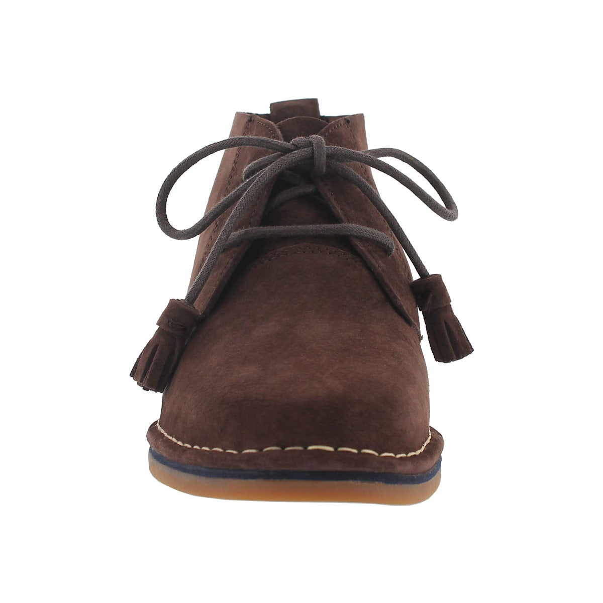 Lds Cyra Catelyn dk brown chukka boot