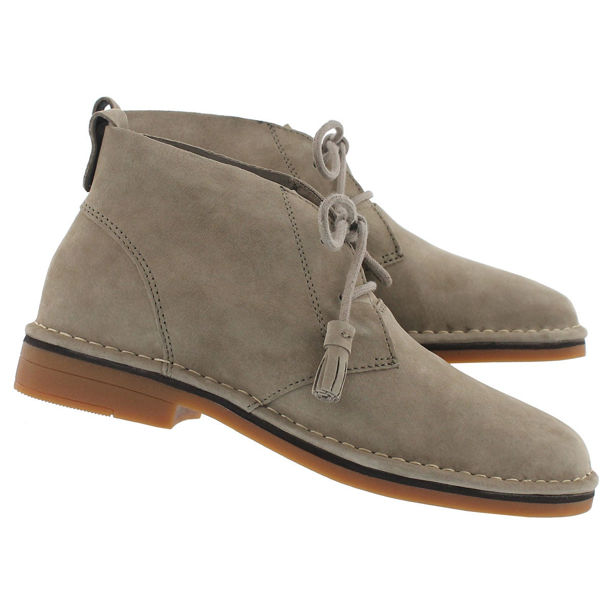 Lds Cyra Catelyn taupe chukka boot