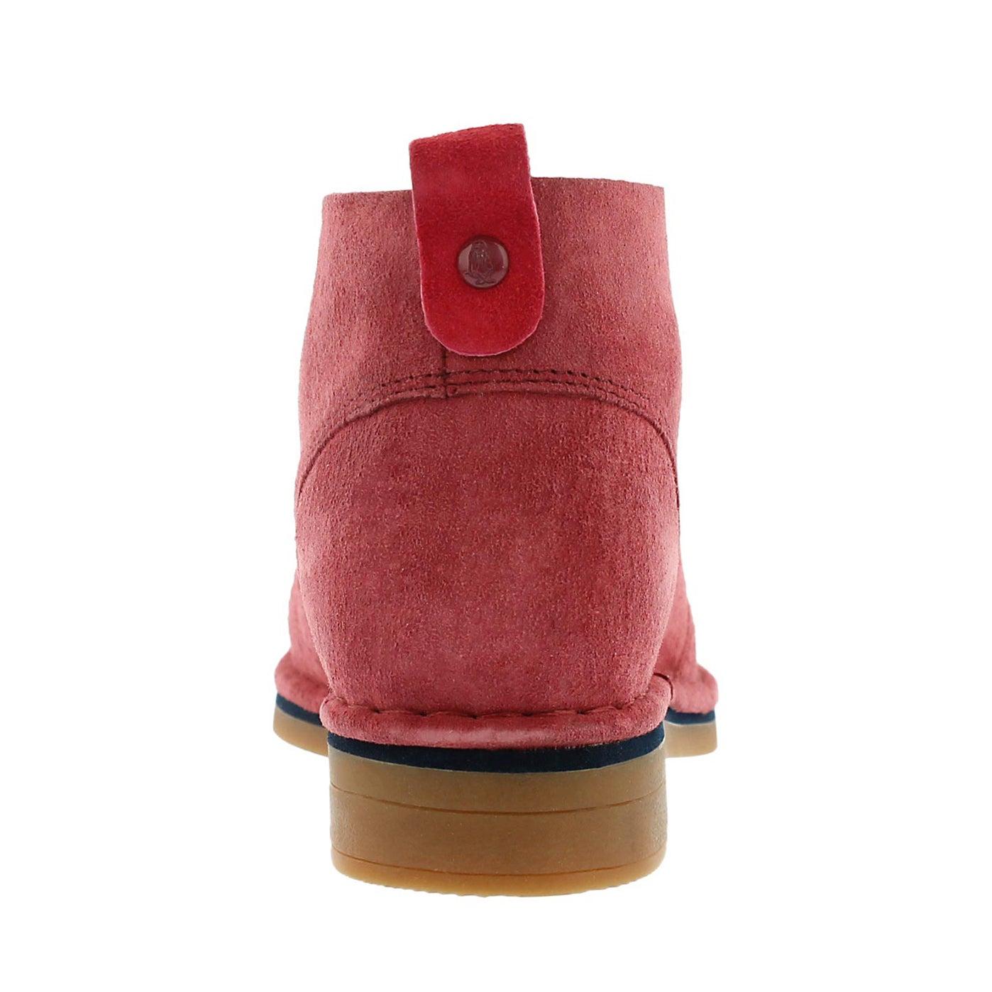 Lds Cyra Catelyn dark red chukka boot
