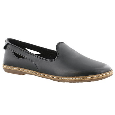 Lds Sebeka Piper black casual flat