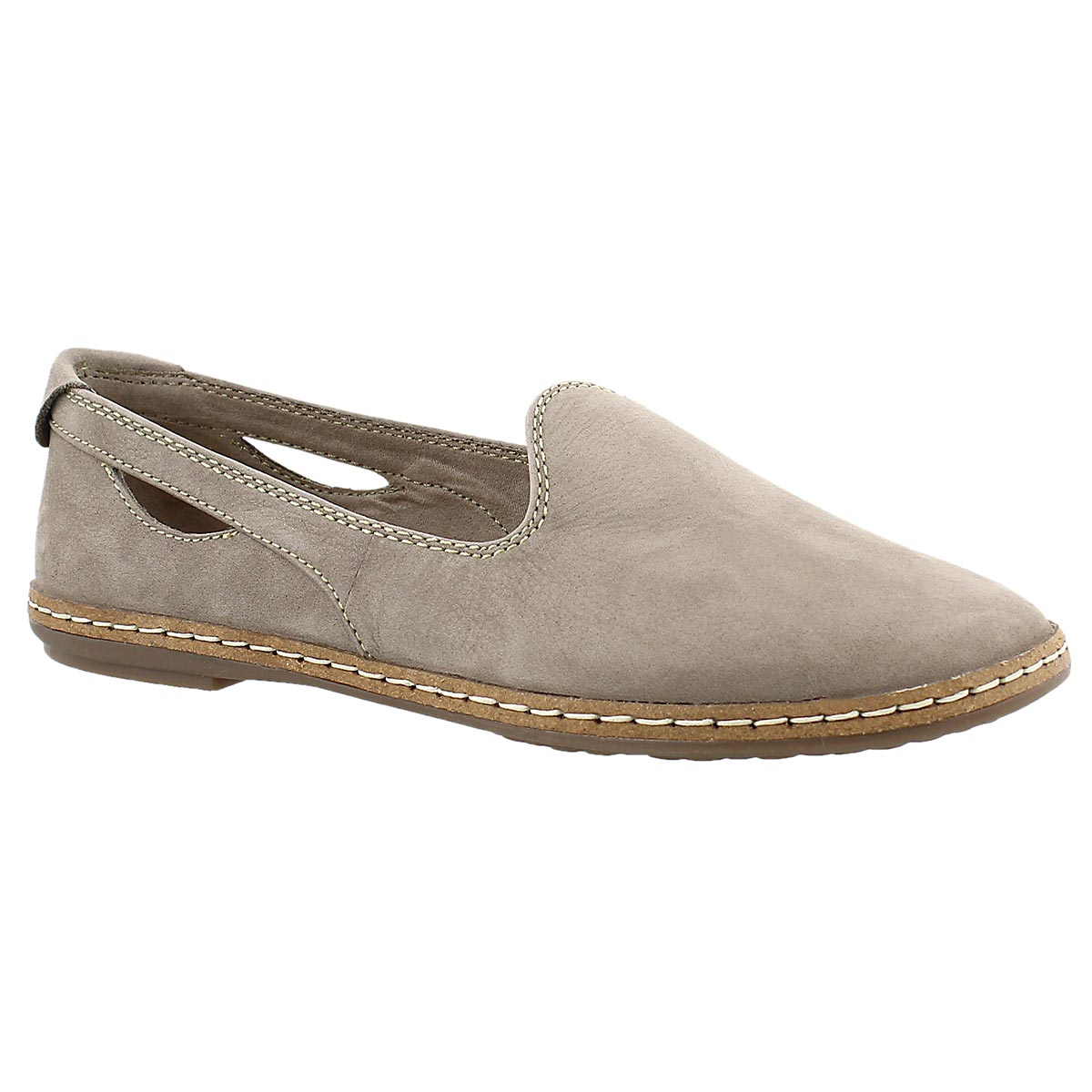 Women's SEBEKA PIPER taupe casual flats