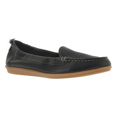 Hush Puppies Women's ENDLESS WINK black casual slip ons