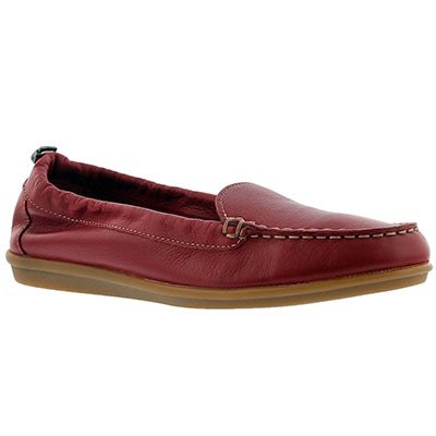 Hush Puppies Women's ENDLESS WINK red casual slip ons
