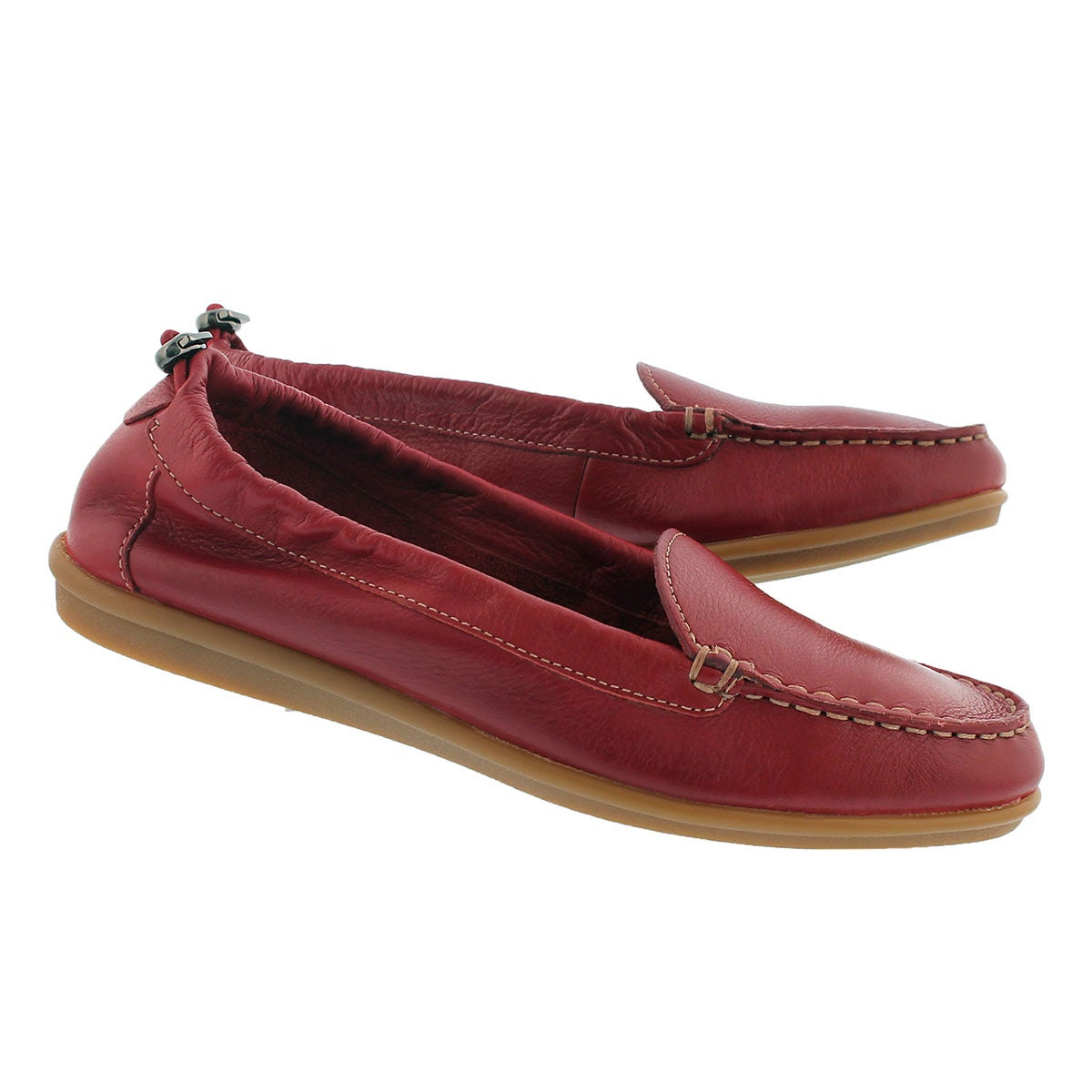 Lds Endless Wink red casual slip on