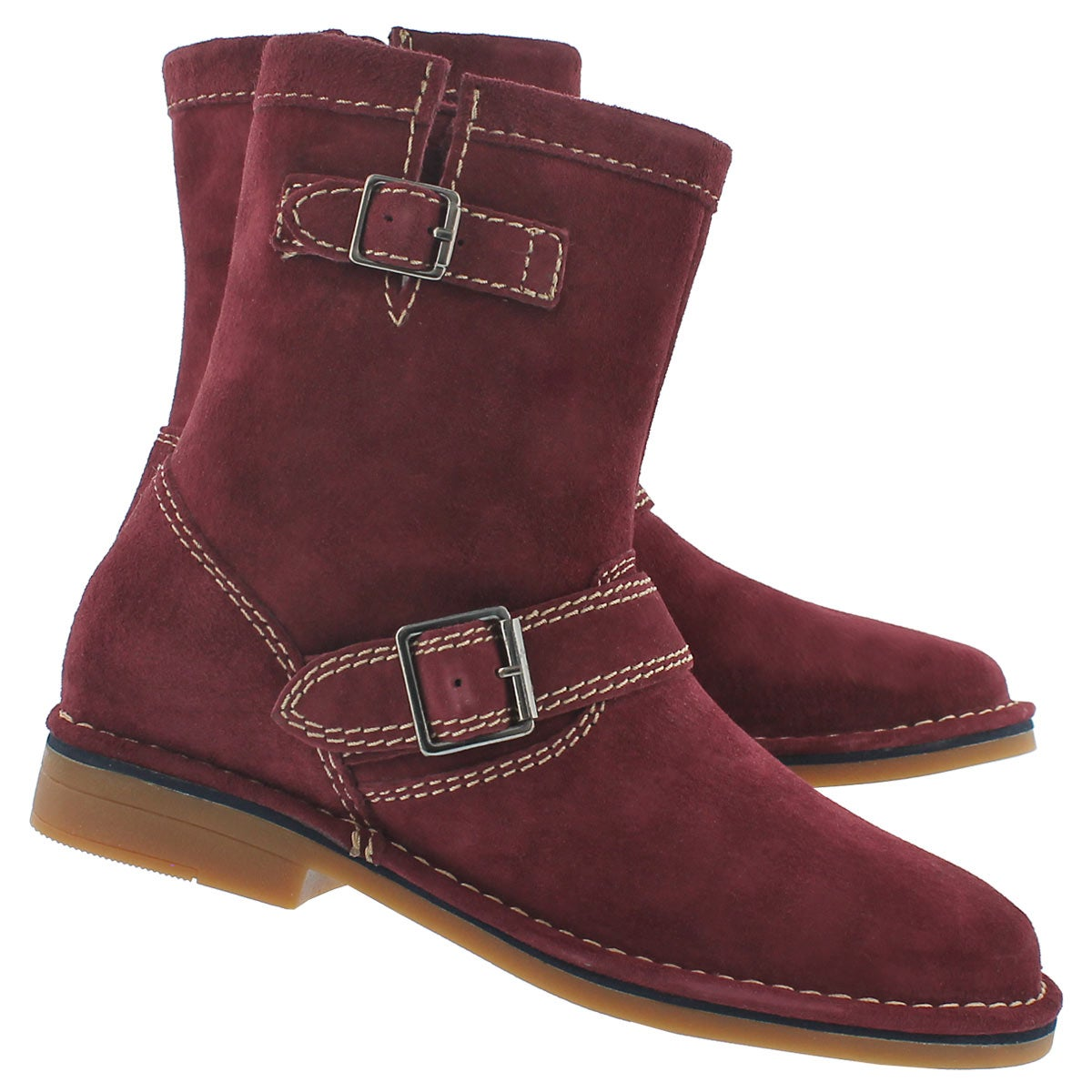 Lds Aydin Catelyn wine ankle boot