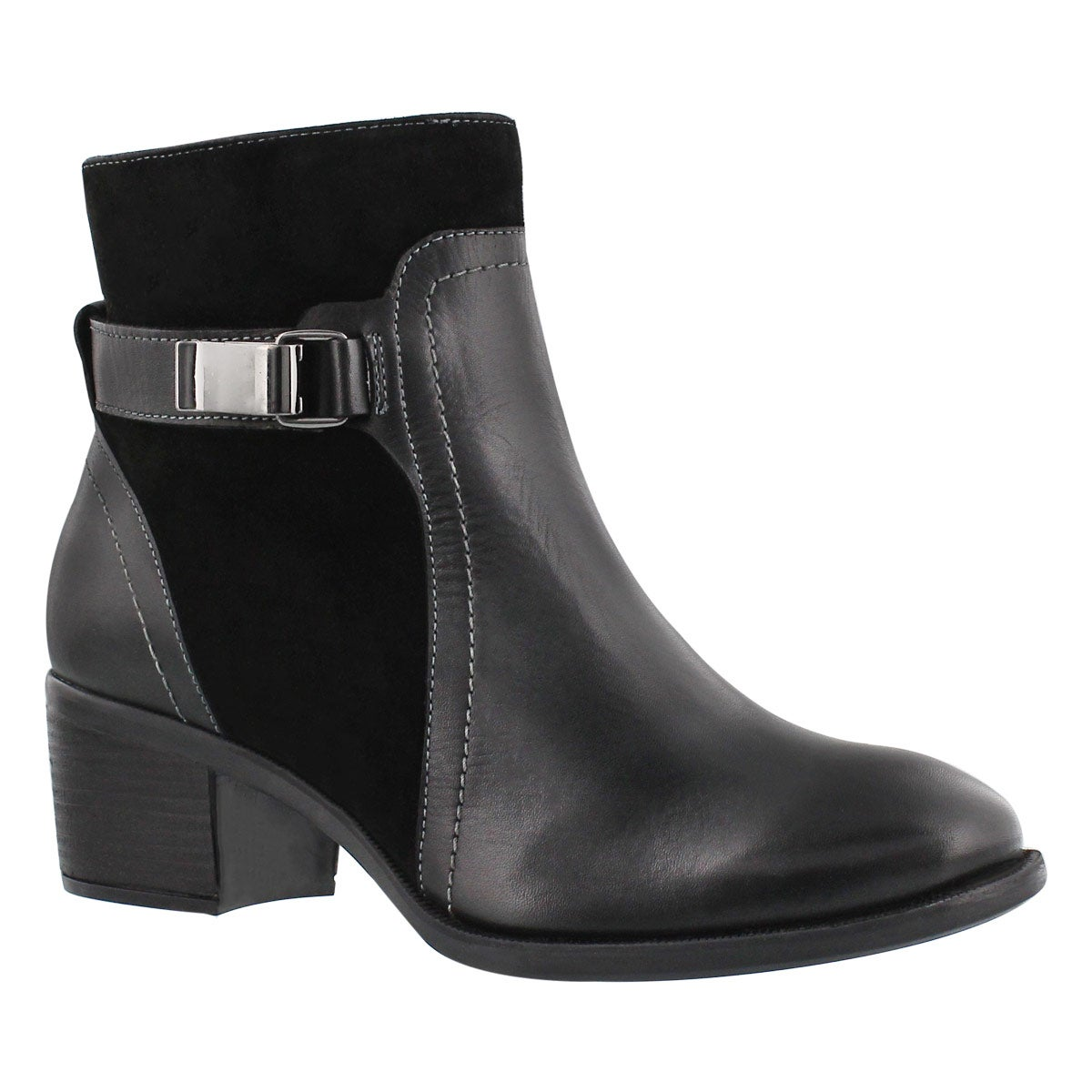 Lds Fondly Nellie black dress ankle boot