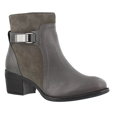 Hush Puppies Women's FONDLY NELLIE grey dress ankle boots