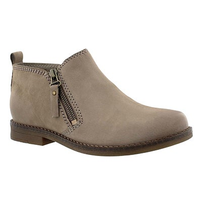 Lds Mazin Cayto taupe zip up casual boot
