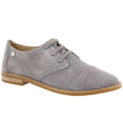Lds Aiden Clever grey casual oxford