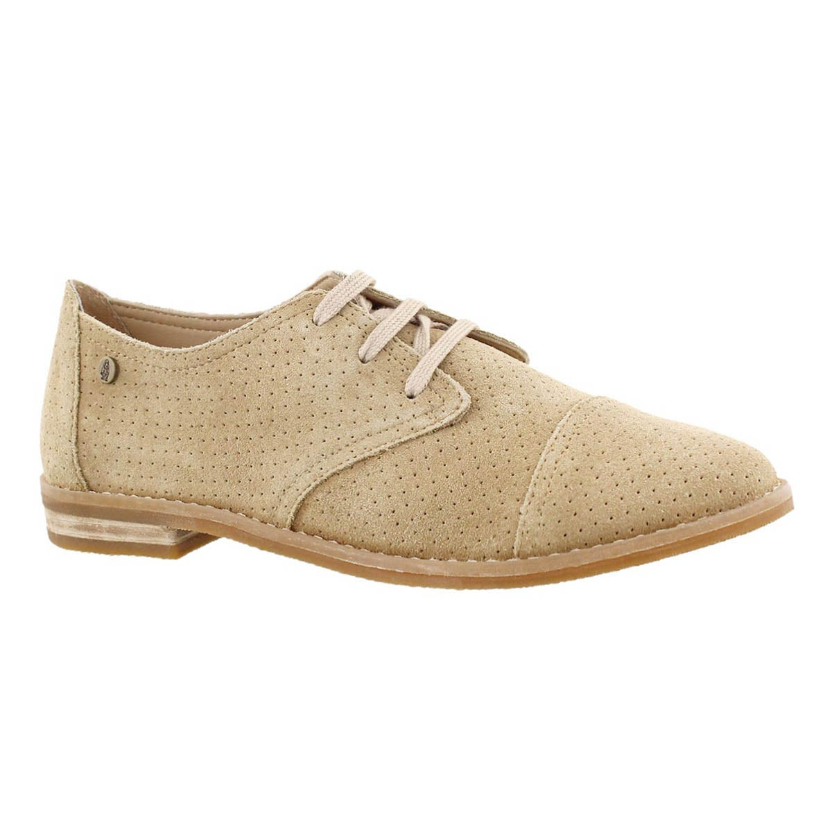 Women's AIDEN CLEVER light tan casual oxfords