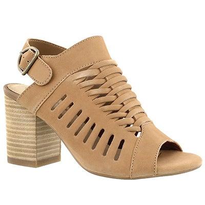 Lds Sidra Malia light tan dress sandal