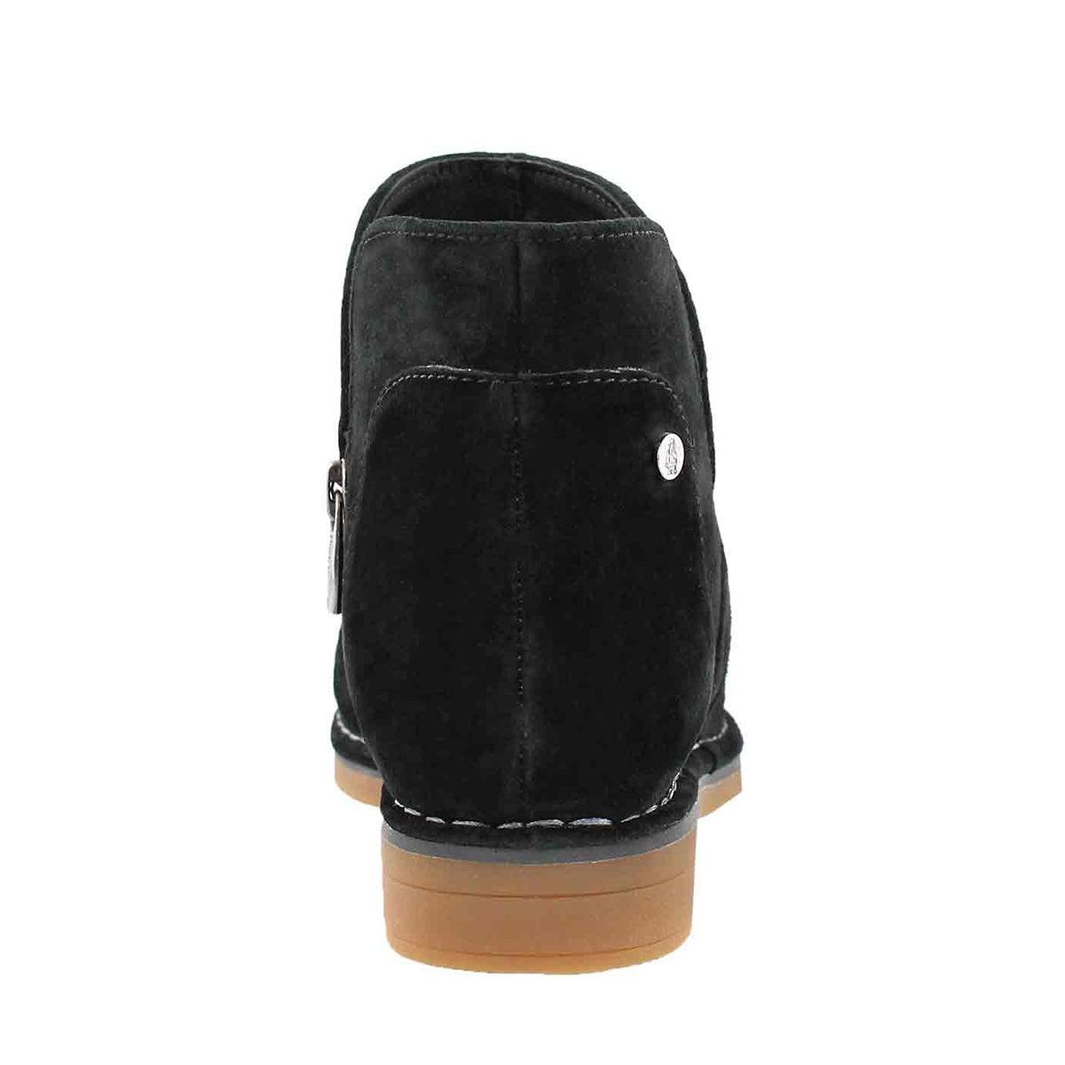 Lds Claudia Catelyn black slip on boot