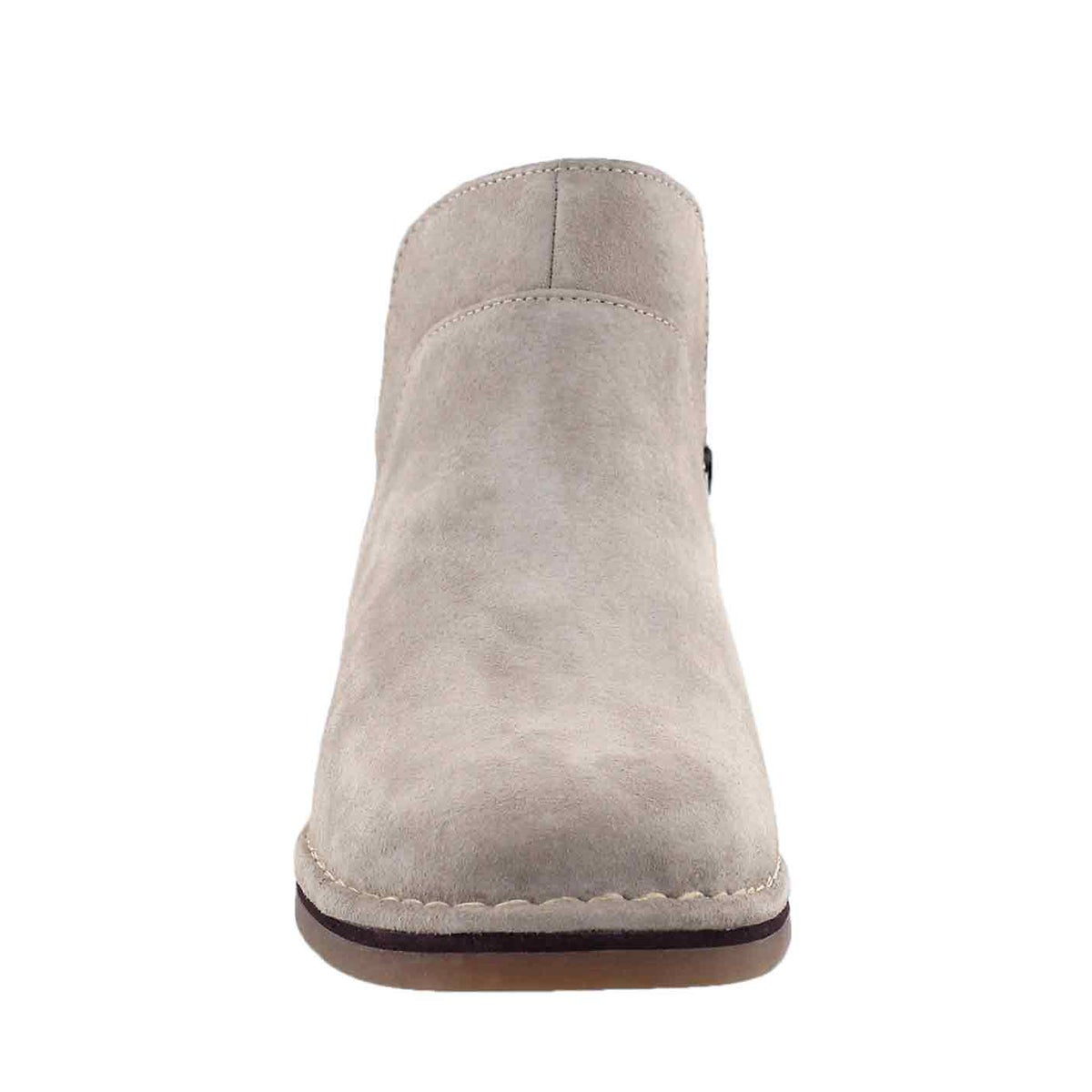 Lds Claudia Catelyn taupe slip on boot