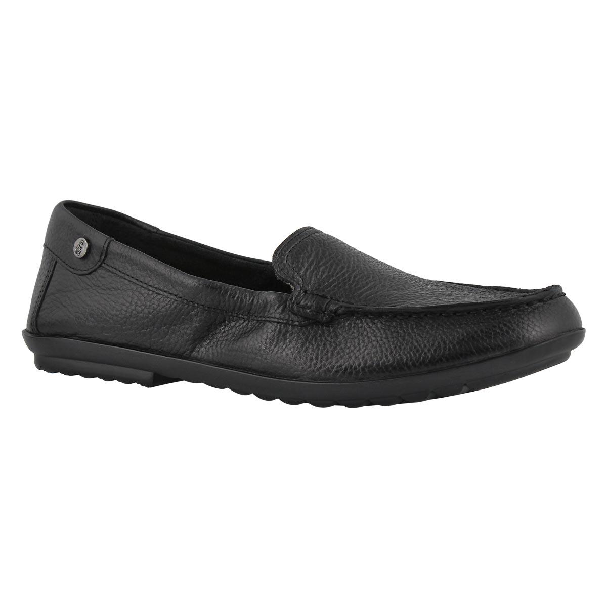 Lds Aidi Mocc black casual slip on