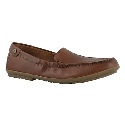 Lds Aidi Mocc dachshund casual slip on