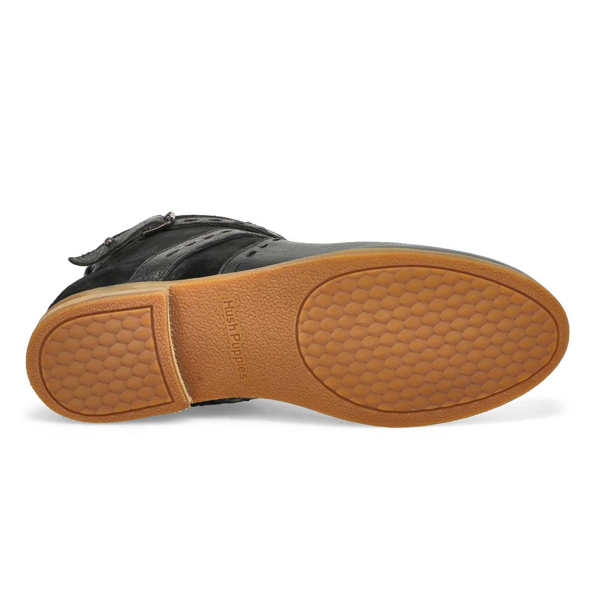 Lds Chardon Belt black casual ankle boot