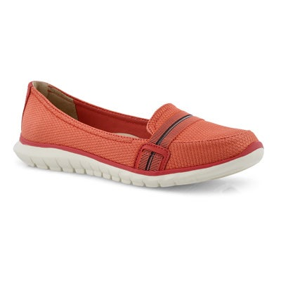 Lds Tricia Band sea coral casual loafer