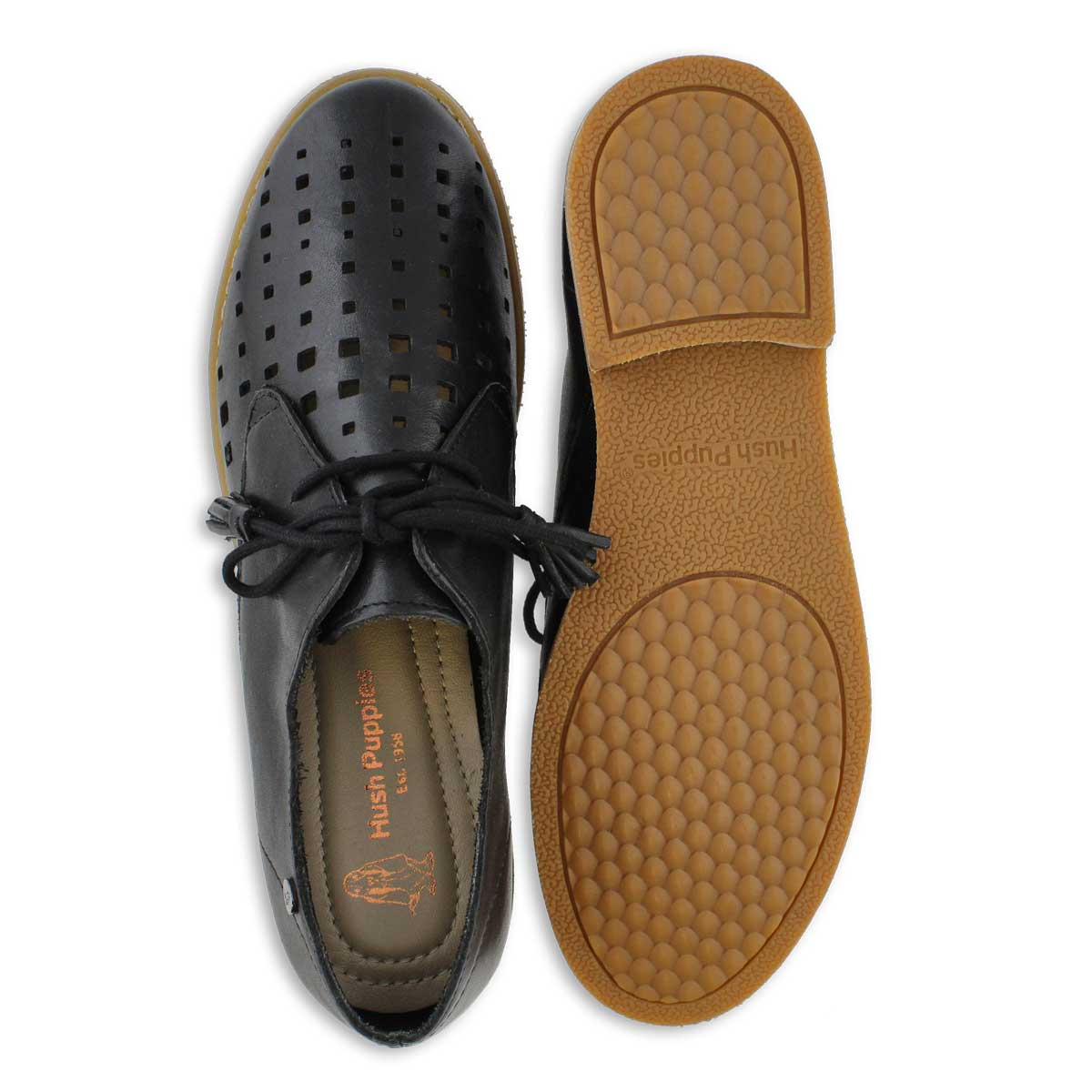 Lds Chardon black casual oxford