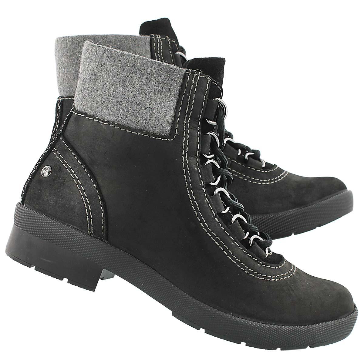 Lds Dorris Fairley blk wtpf winter boot