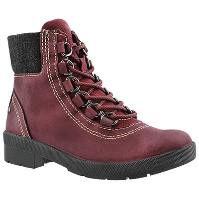 Lds Dorris Fairley wine wtpf winter boot