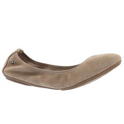 Hush Puppies Ballerines CHASTE BALLET, écorce de pin, femmes