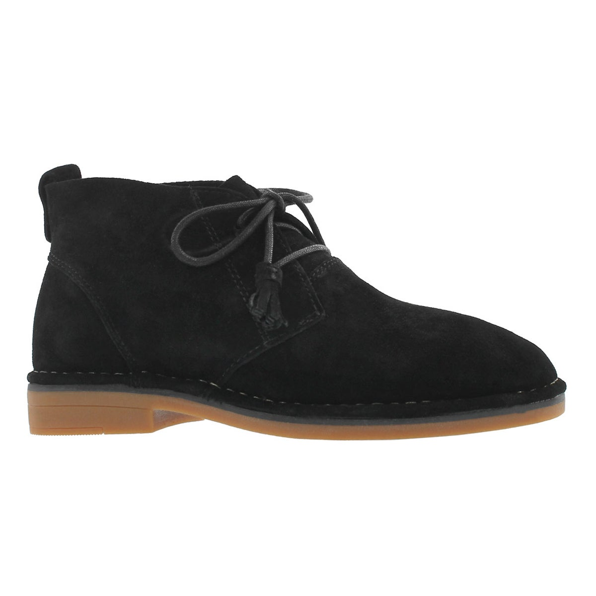 Women's CYRA CATELYN black chukka boot