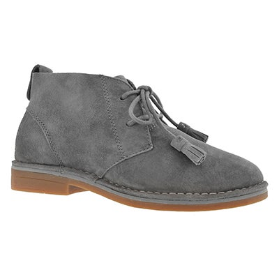 Hush Puppies Women's CYRA CATELYN smoke chukka boots
