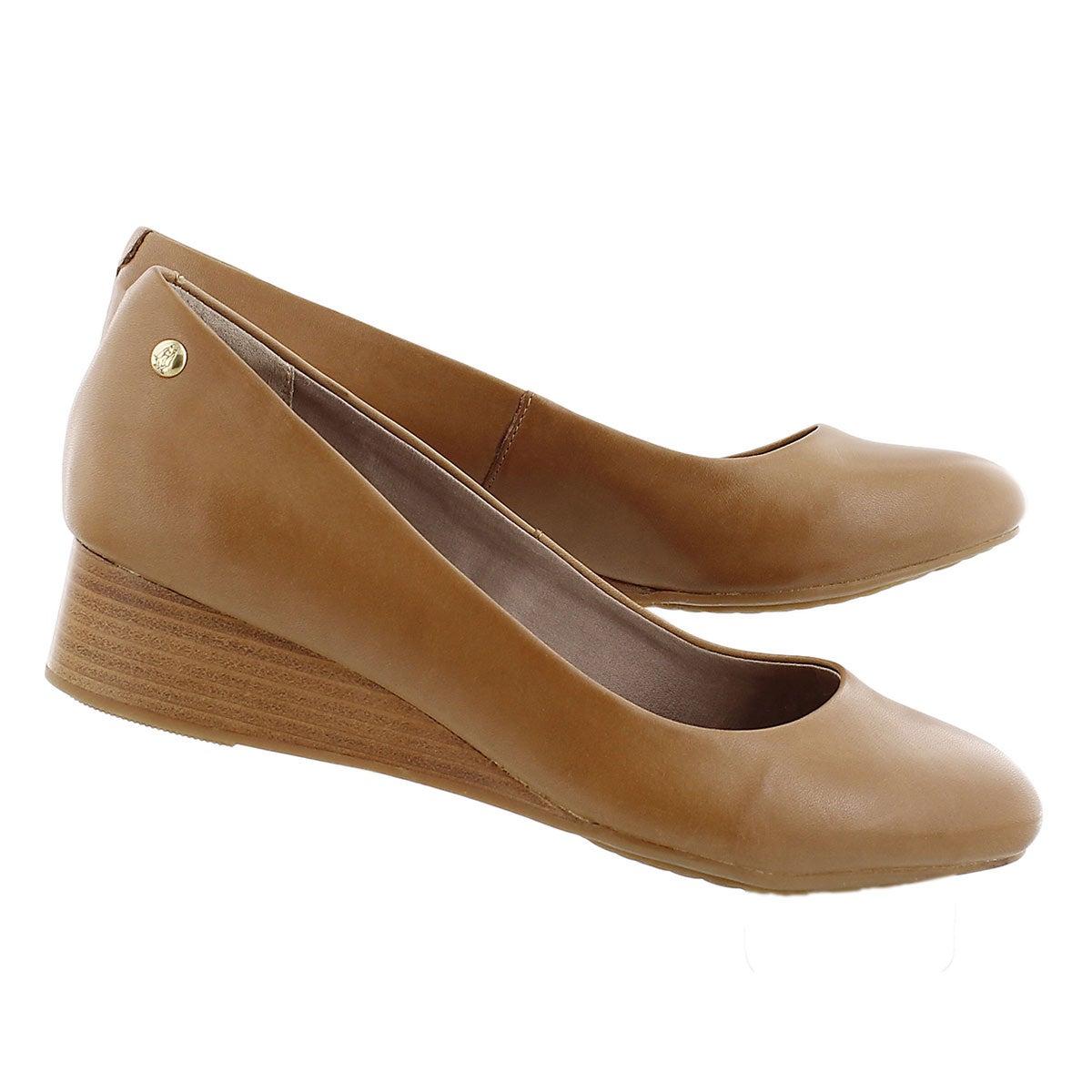 Chaussure à tal comp Admire, havane, fem