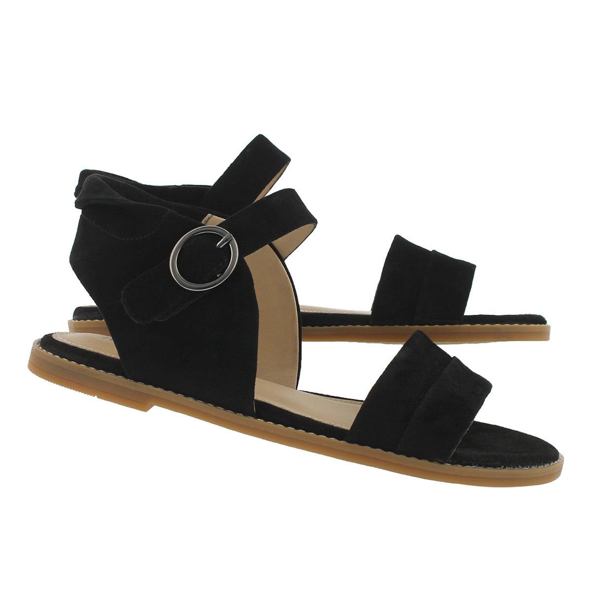 Lds Abia Chrissie black casual sandal