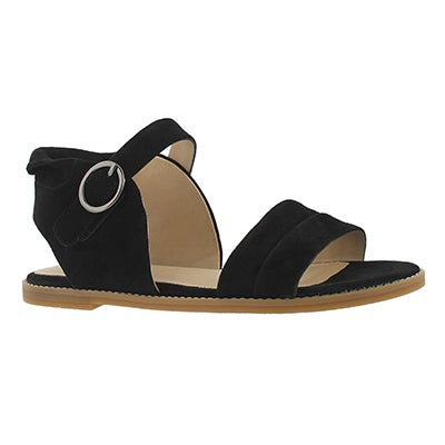 Lds Abia Chrissie black casual sandal