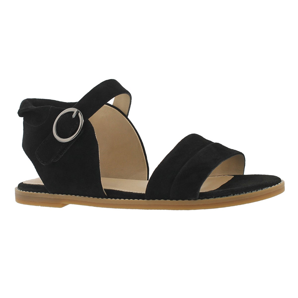 Women's ABIA CHRISSIE black casual sandals