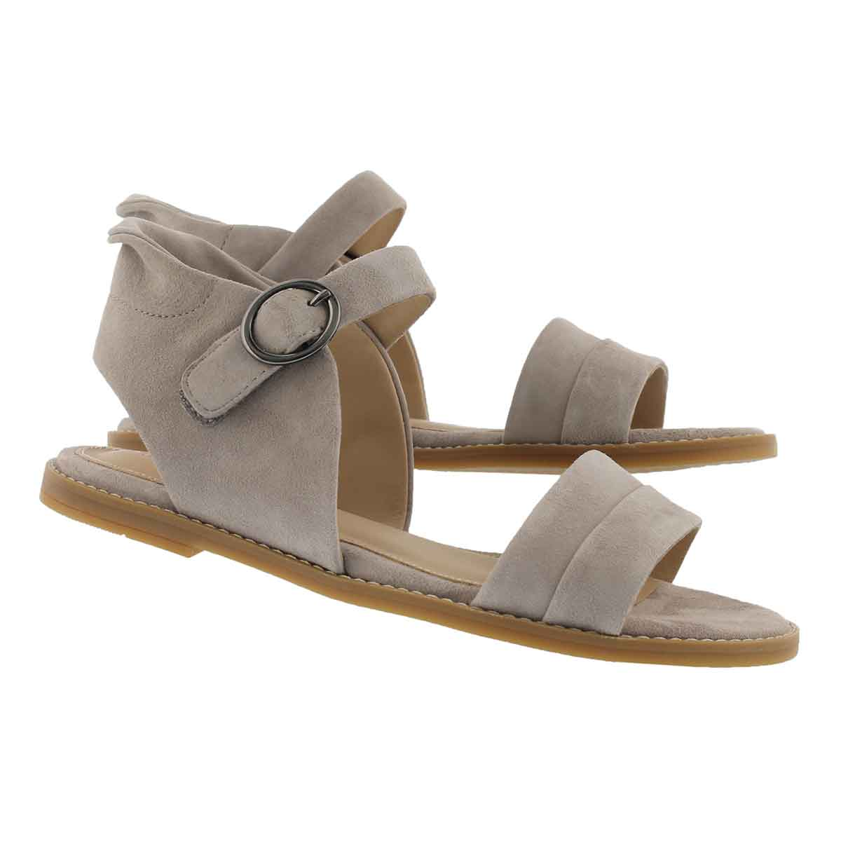 Lds Abia Chrissie lt taupe casual sandal