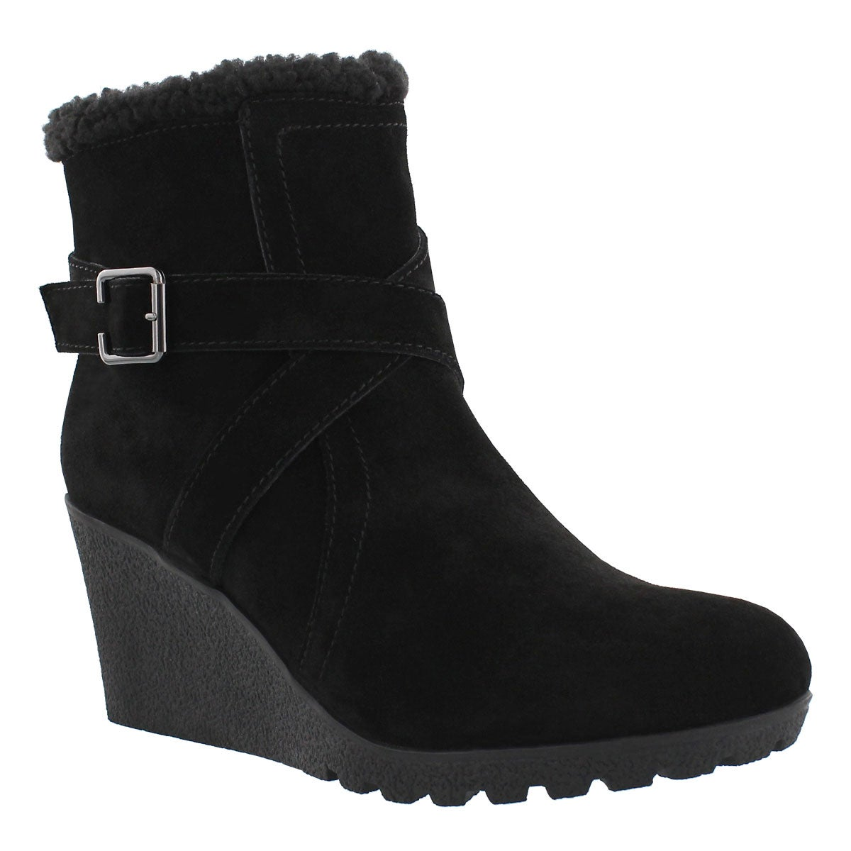 Women's AMBER MILES IIV blk waterproof wdg booties