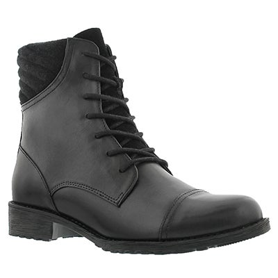 Lds Sunny Madison black wtpf ankle boot