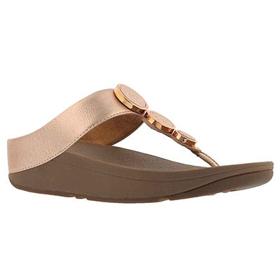Lds Halo Toe rose gold thng sndl