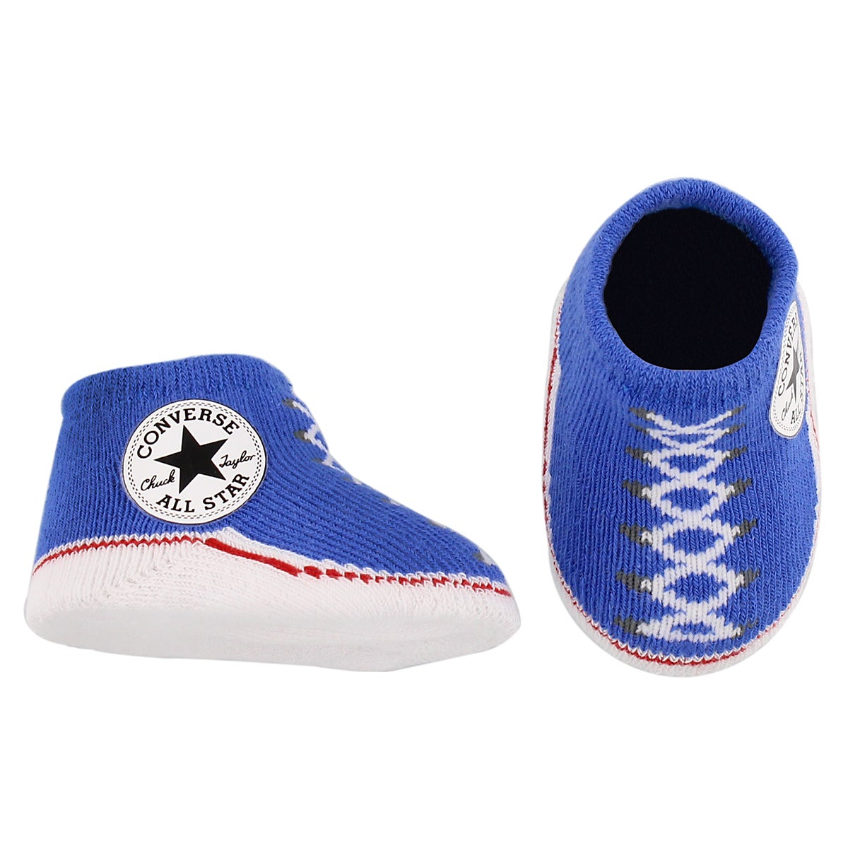 Infs Converse blue hat and bootie combo