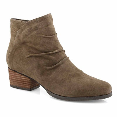 Lds Indira tpe suede wtpf ankle boot