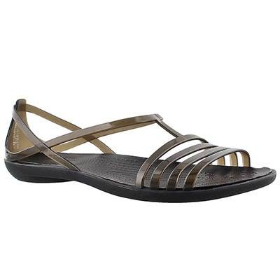 Crocs Sandales ISABELLA, noir, femmes