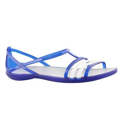 Lds Isabella blue sandal