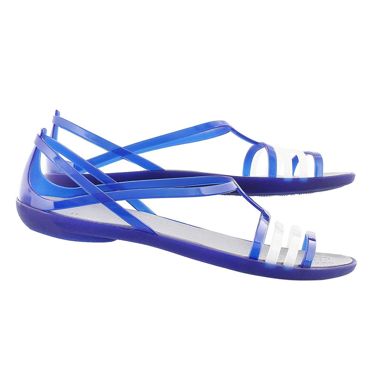 Sandale Isabella, bleu, femmes