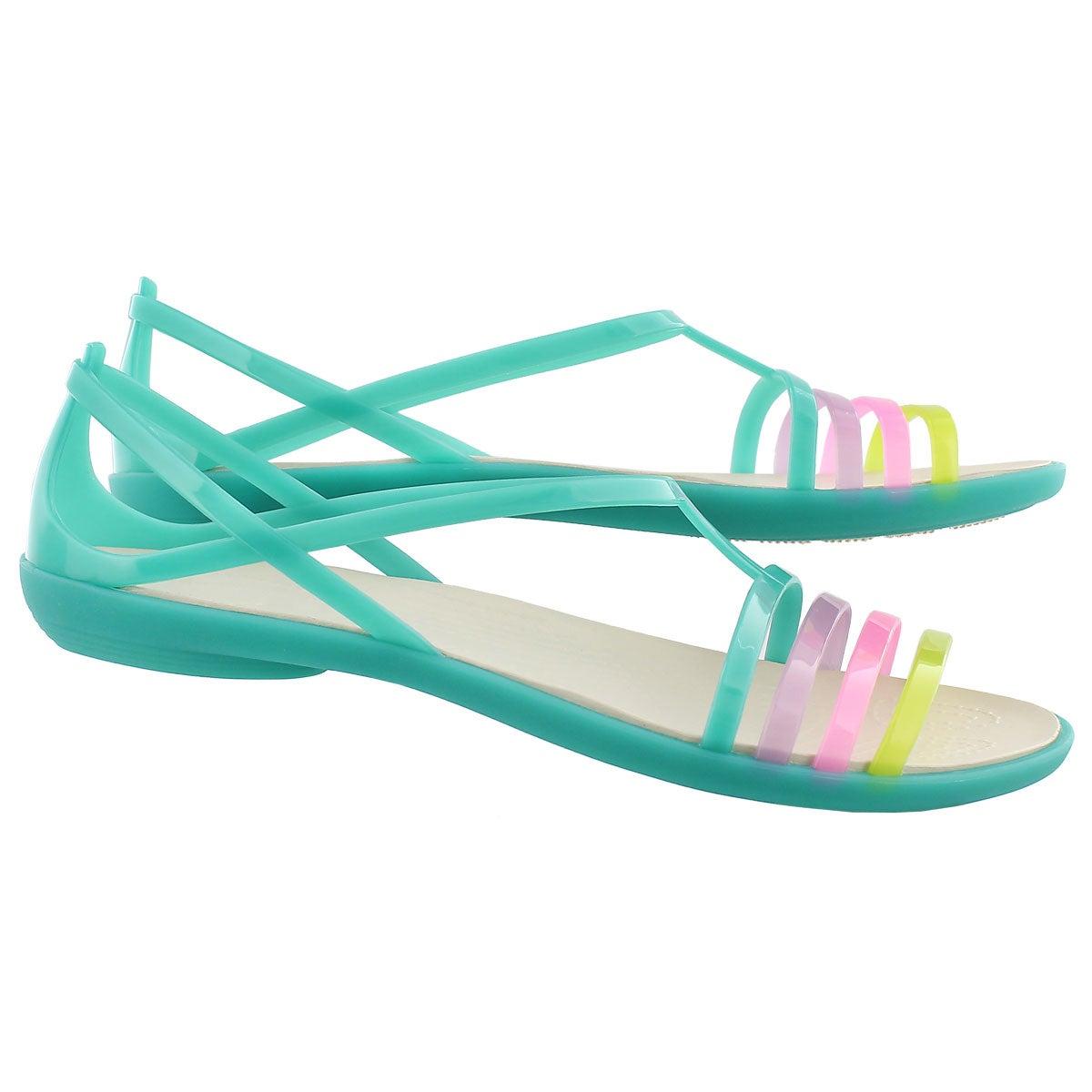 Lds Isabella green sandal
