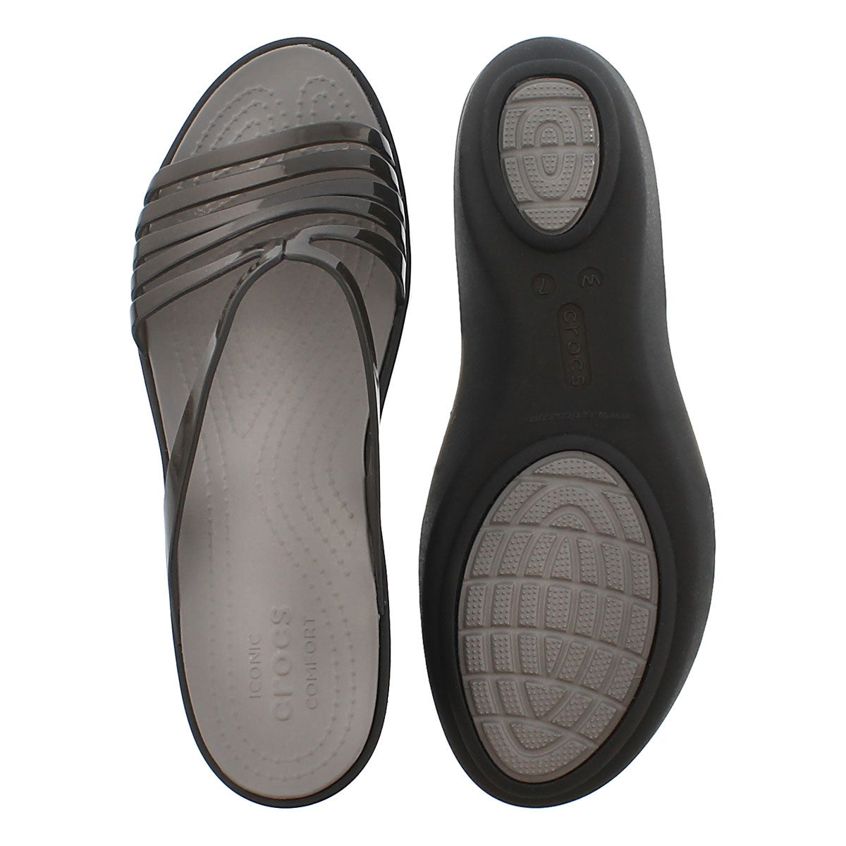 Sandale Isabella Mini Wedge, noir, femme