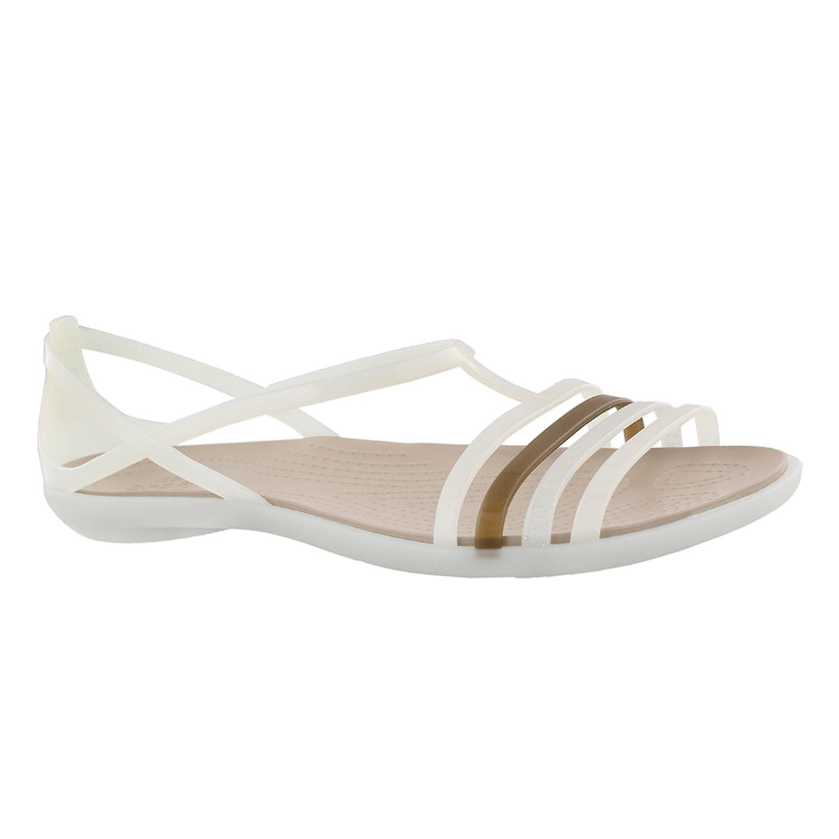 Women's ISABELLA oyster/walnut sandals