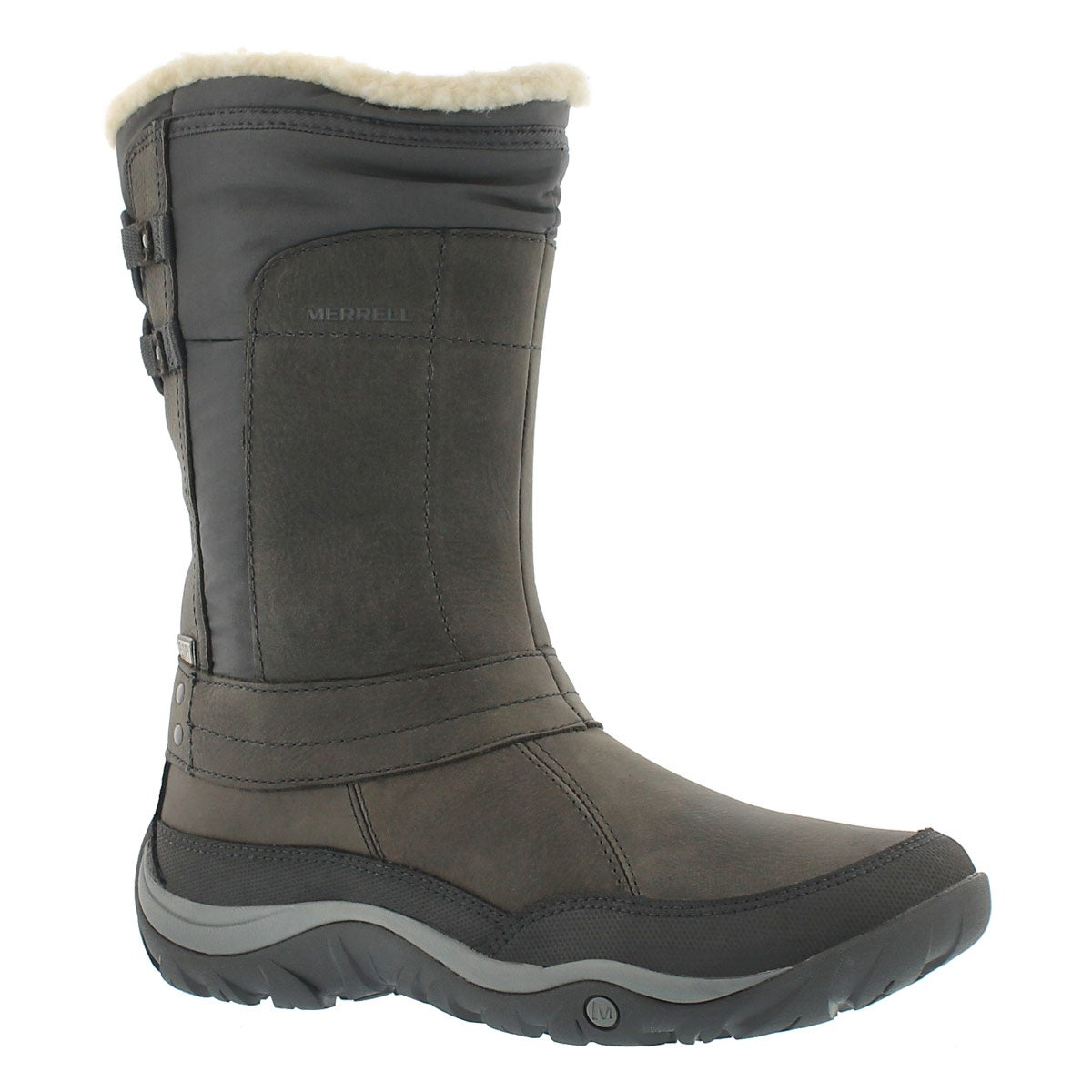 Lds Murren Mid wtpf pewter snow boot