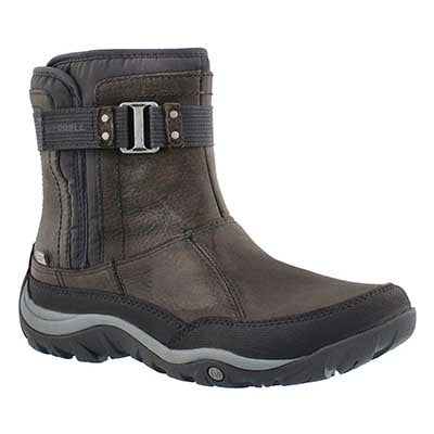Merrell Women's MURREN STRAP wtpf pewter winter boots