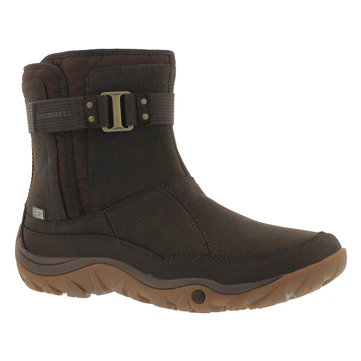 Lds Murren Strap wtpf brackn winter boot